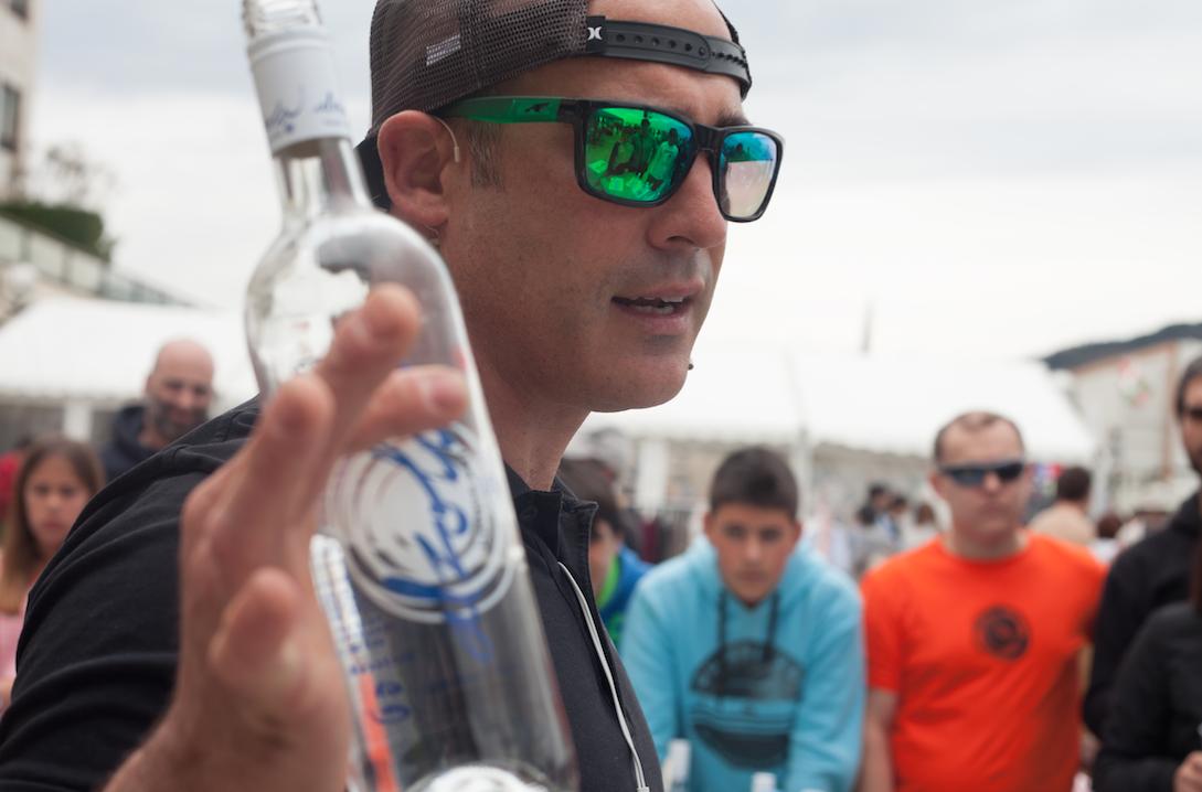 Alzola Basque Water protagonista de la Cata de Aguas en el ProZarautz 2016 del WSL