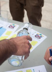 ProZarautz y Alzola Basque Water hacen una Cata de Aguas Minerales en el evento WSL