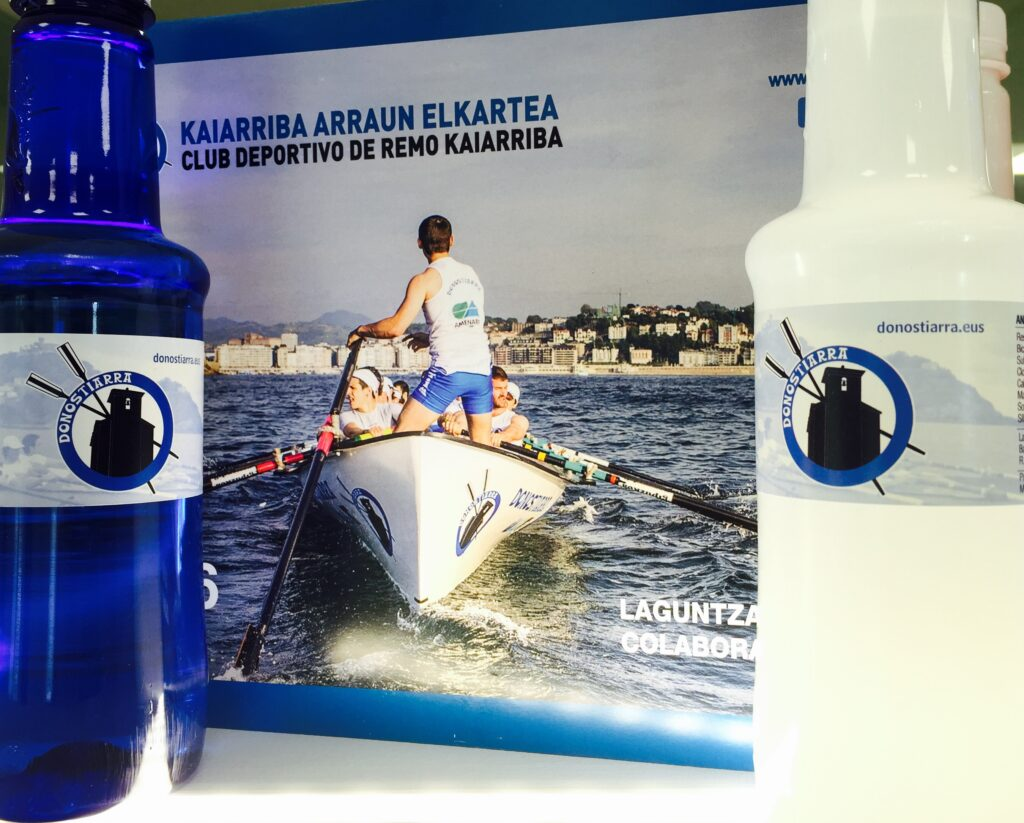Kaiarriba con la ayuda de Alzola Basque Water