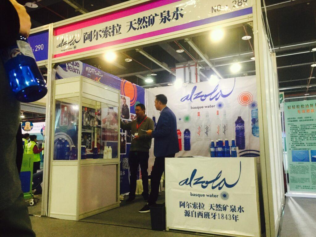 Alzola Basque Water en la Feria de Aguas de Shanghai