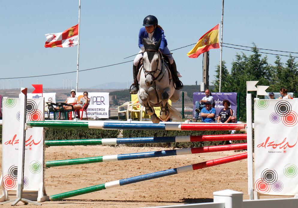 Concurso de Salto Nacional en Miraflores, Burgos.