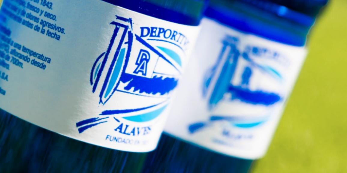 El Deportivo Alavés dará comienzo a la Liga con la mejor agua del mundo
