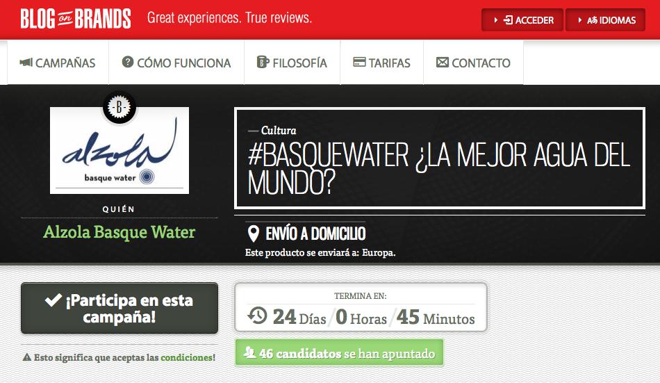 Qué piensan los bloggers sobre el Agua