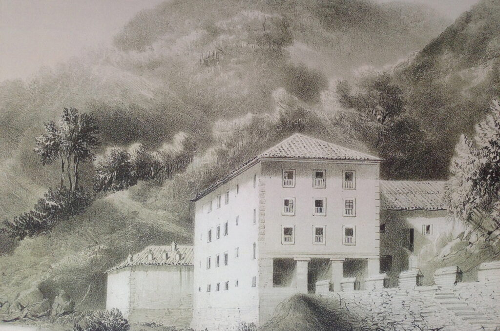 La Casa de Baños de Alzola es previa al Balneario