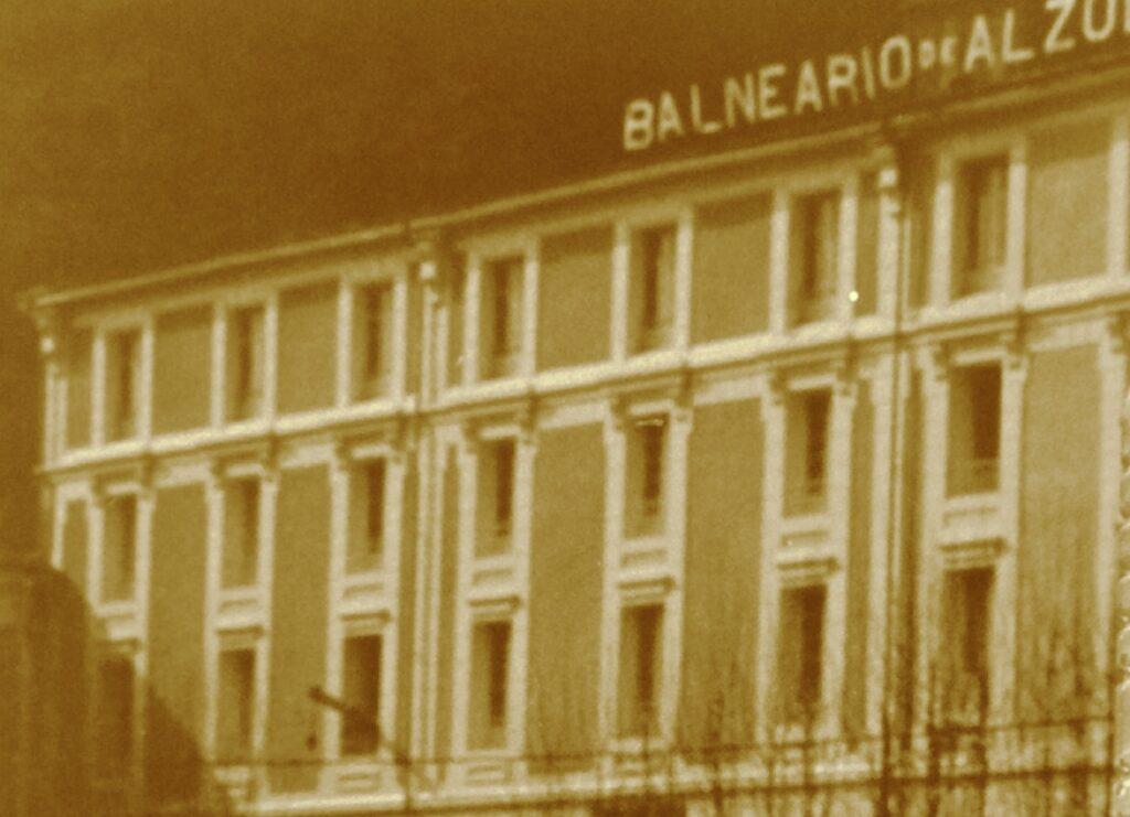 Fachada del Gran Hotel Balneario de Alzola