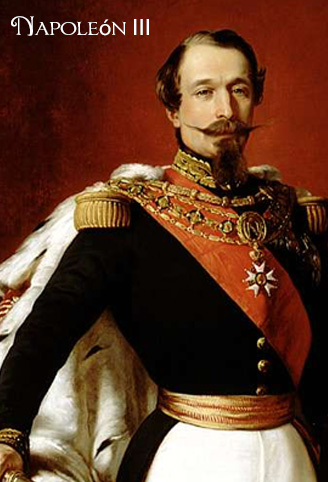 Napoleón III es uno de los personajes históricos que bañan la Historia de Alzola