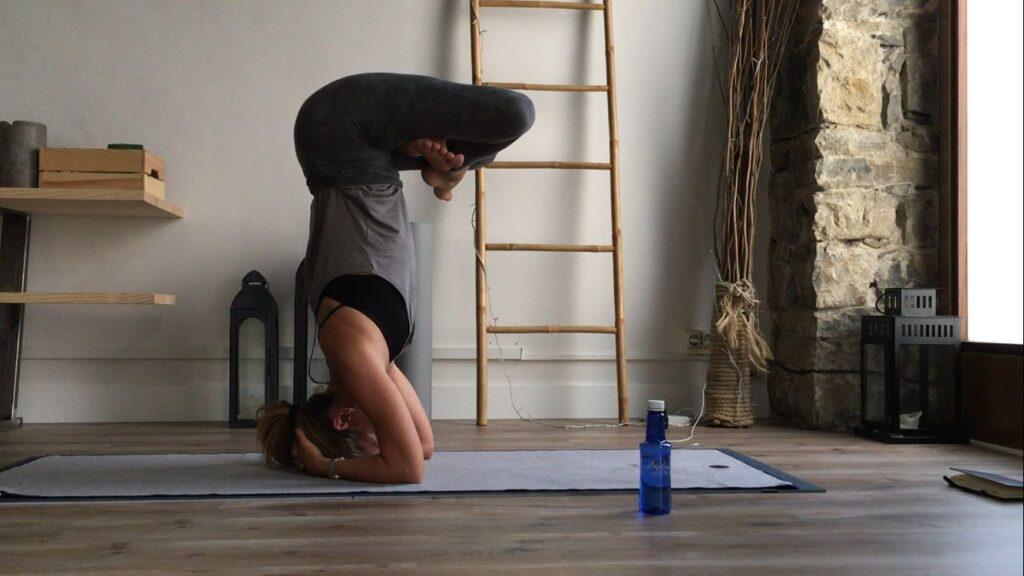 El Yoga es para Esther Fernández más que un hábito adquirido.