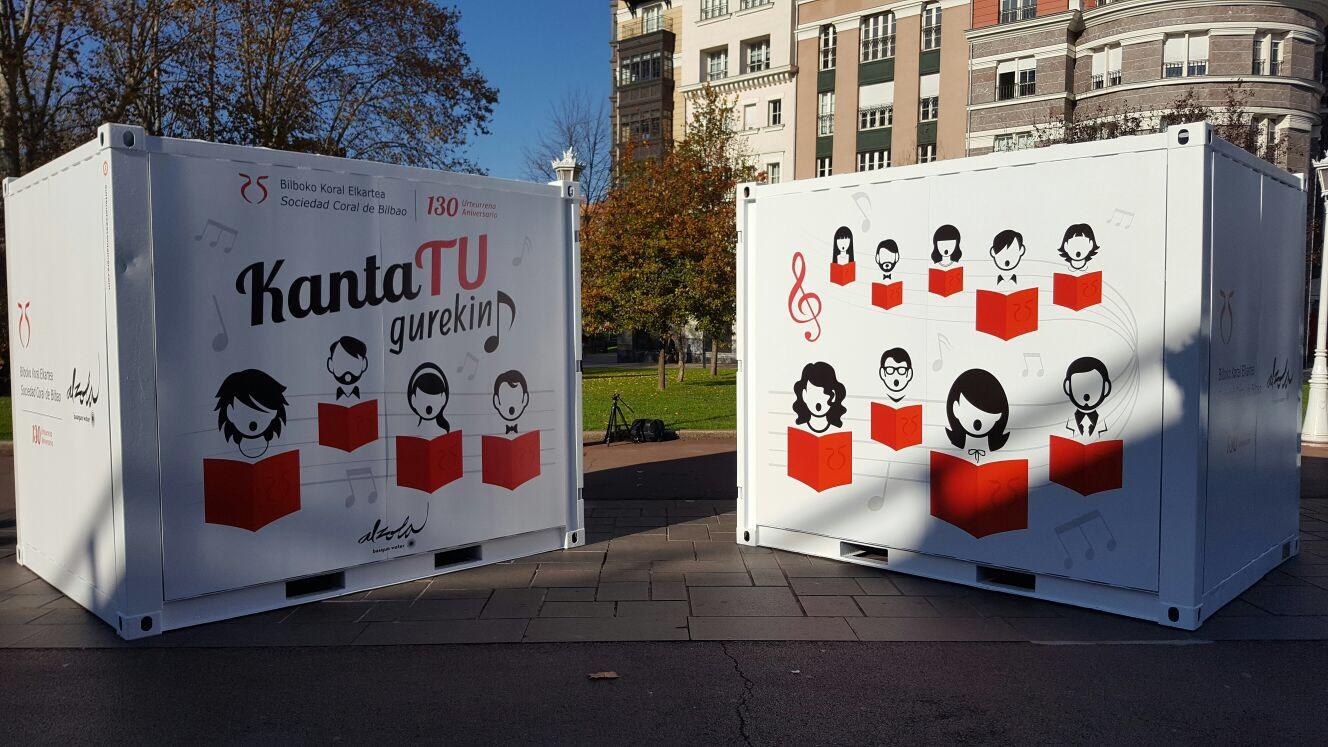 Kantatu Gurekin y celebremos los 130 años de la Coral de Bilbao
