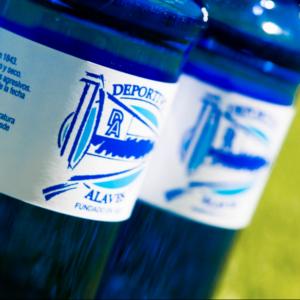 Deportivo Alavés con la mejor agua del mundo