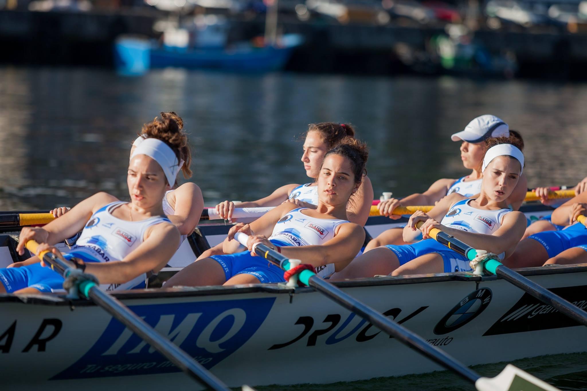 Donostia San Sebastián vuelve a tener una tripulación femenina de la mano de Donostiarra Kaiarriba.