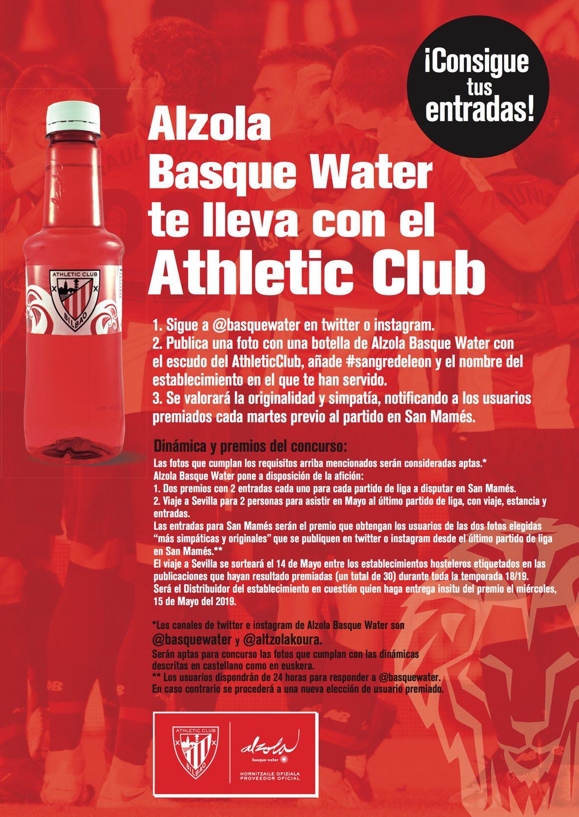 A San Mamés con Sangredeleon de Alzoal Basque Water - AthleticClub