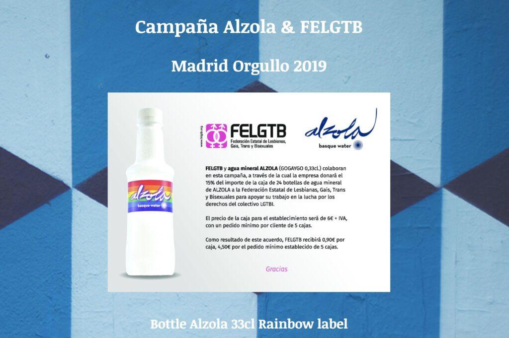Campaña GoGayGo Alzola FELGTB