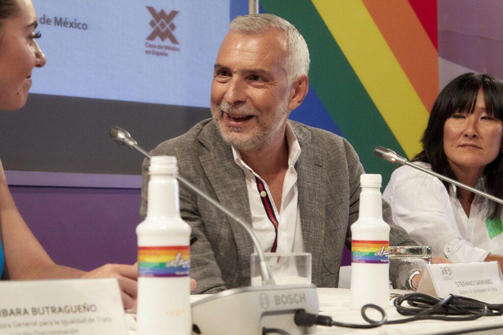Embajador de Italia con GoGayGo de Alzola Basque Water
