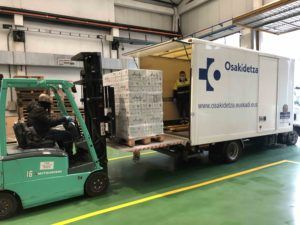 Alzola Basque Water dona Agua Mineral Natural a Osakidetza en crisis sanitaria Coronavirus
