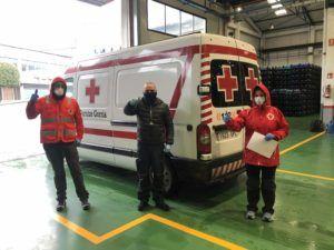 Alzola Basque Water y Cruz Roja Bizkaia Gipuzkoa afrontan crisis sanitaria Coronavirus