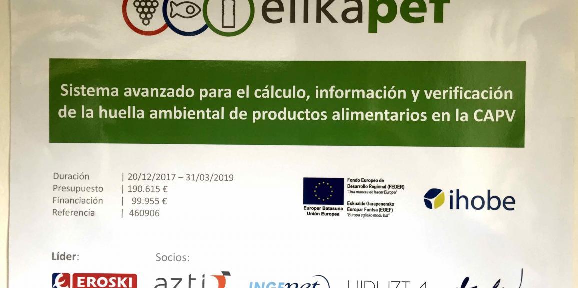 (Español) La Huella Ambiental del Agua Mineral Natural, con ElikaPEF