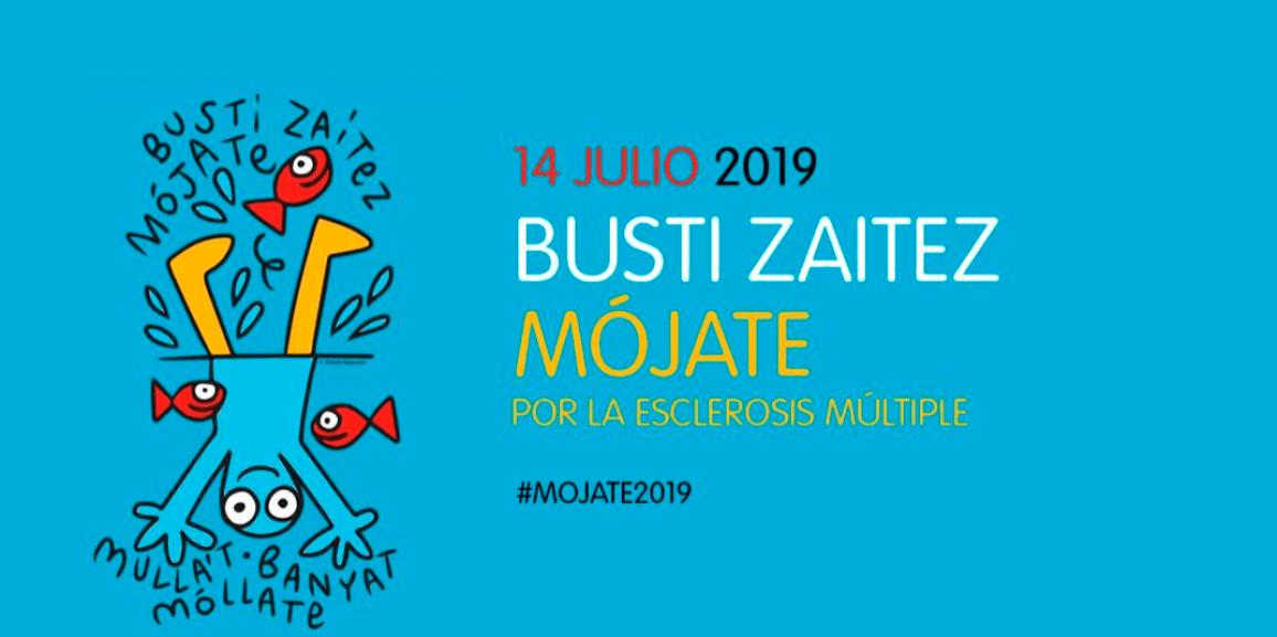 (Español) Mojate2019 por la Esclerosis Multiple con ADEMBI y Alzola Basque Water