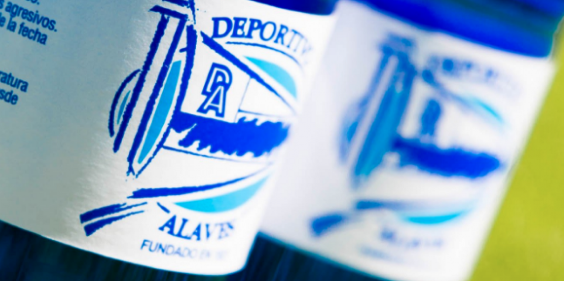 Deportivo Alavés will start the league with the best water in the world