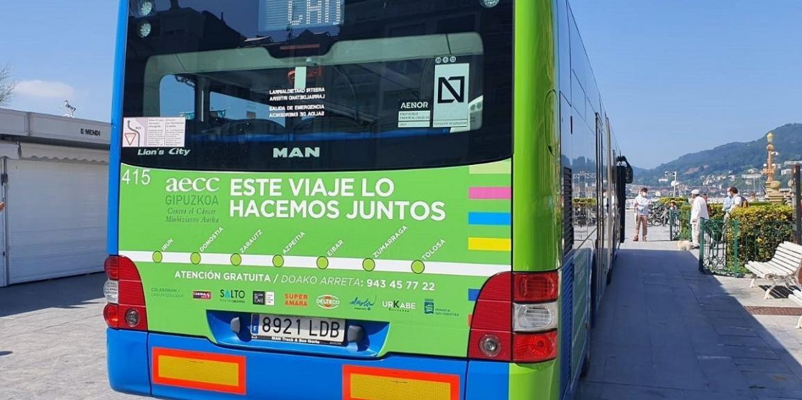 """(Español) """"Bus Activo Contra el Cáncer"""": este viaje lo hacemos juntos"""